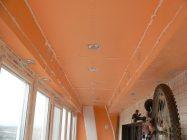 Как утеплить потолок на лоджии пеноплексом