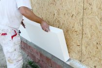Пенопластовые плиты для утепления наружных стен