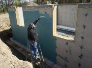 Гидроизоляция стен фасада