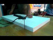 Как разрезать пенопласт в домашних условиях вдоль
