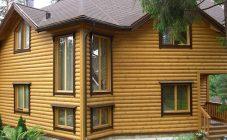 Облицовка фасада блок хаусом