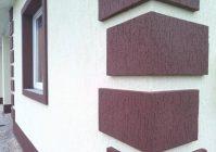 Как делать короед на фасад дома
