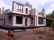 Строительство коттеджей из газоблоков